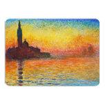 Claude Monet Sunset In Venice Impressionist Art 13 Cm X 18 Cm Invitation Card
