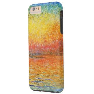 Claude Monet Sunset In Venice Impressionist Art Tough iPhone 6 Plus Case