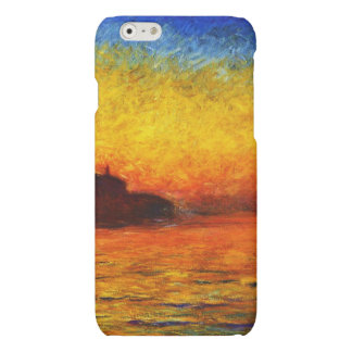 Claude Monet-Sunset in Venice iPhone 6 Plus Case