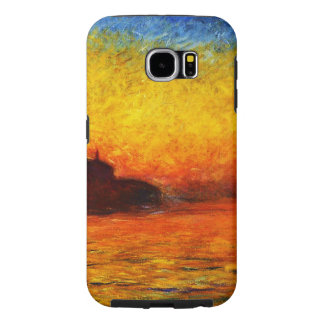 Claude Monet-Sunset in Venice Samsung Galaxy S6 Cases