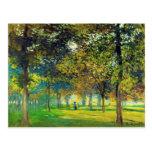 Claude Monet: The Allee Du Champ De Foire Post Cards