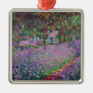 Claude Monet | The Artist's Garden at Giverny Christmas Ornament