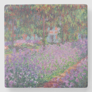Claude Monet | The Artist's Garden at Giverny Stone Coaster