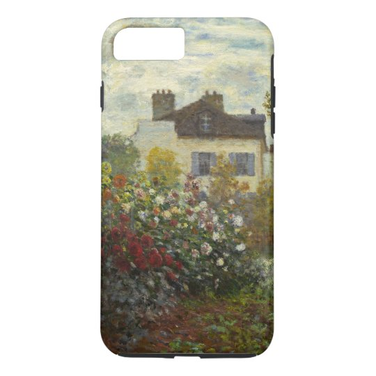 Claude Monet The Artist's Garden Floral Vintage iPhone