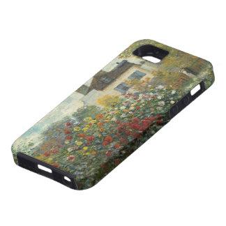 Claude Monet | The Artist's Garden in Argenteuil iPhone 5 Case