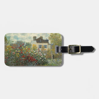 Claude Monet   The Artist's Garden in Argenteuil Luggage Tag