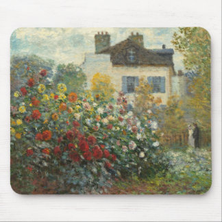 Claude Monet   The Artist's Garden in Argenteuil Mouse Mat