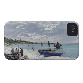 Claude Monet | The Beach at Sainte-Adresse Case-Mate iPhone 4 Case