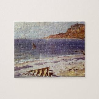 Claude Monet - The Boat puzzle