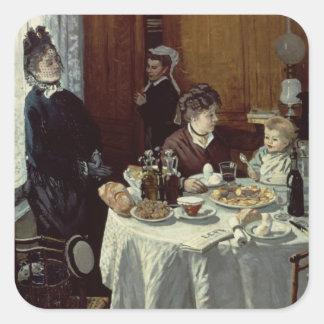 Claude Monet | The Breakfast Square Sticker