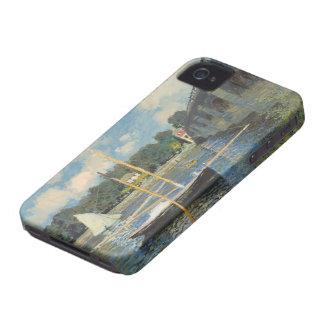 Claude Monet | The Bridge at Argenteuil iPhone 4 Covers