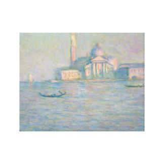 Claude Monet - The Church of San Giorgio Maggiore, Gallery Wrap Canvas