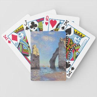 Claude Monet The Cliffs at Etretat Card Deck
