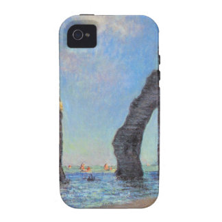 Claude Monet // The Cliffs at Etretat Vibe iPhone 4 Cover