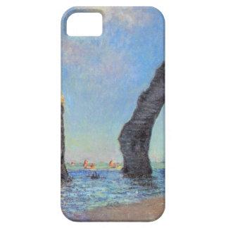 Claude Monet // The Cliffs at Etretat iPhone 5 Case
