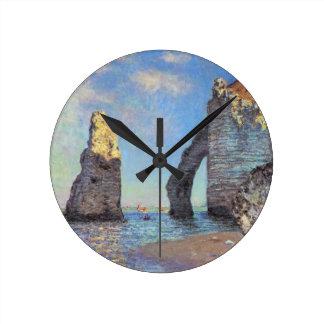 Claude Monet // The Cliffs at Etretat Clocks