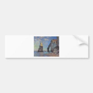 Claude Monet The Cliffs at Etretat Destiny Gifts Car Bumper Sticker