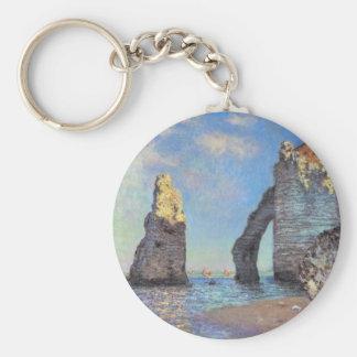 Claude Monet // The Cliffs at Etretat Keychain