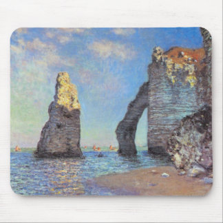 Claude Monet // The Cliffs at Etretat Mouse Pads