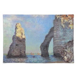 Claude Monet // The Cliffs at Etretat Place Mats