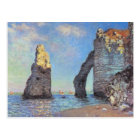 Claude Monet // The Cliffs at Etretat Postcard