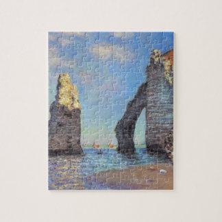 Claude Monet // The Cliffs at Etretat Puzzle