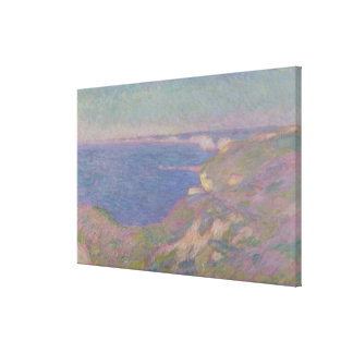 Claude Monet | The Cliffs Near Dieppe Canvas Print