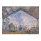 Claude Monet | The Gare St. Lazare, 1877 Postcard