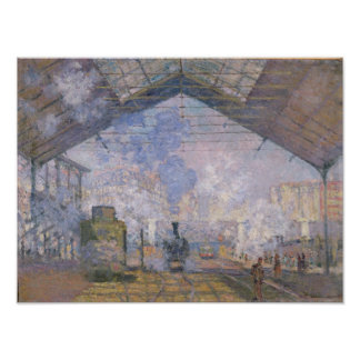 Claude Monet | The Gare St. Lazare, 1877 Poster
