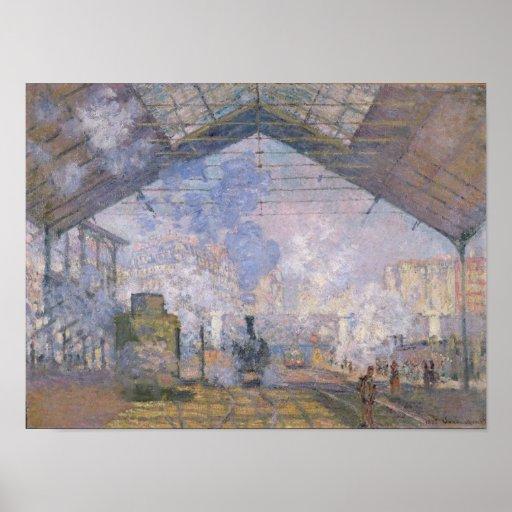 Claude Monet | The Gare St. Lazare, 1877