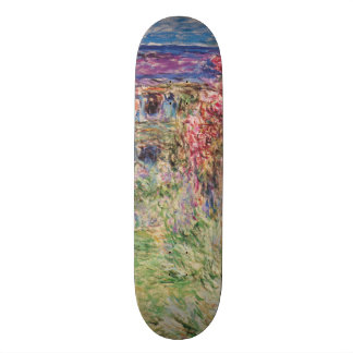 Claude Monet The House Among the Roses GalleryHD Skate Boards