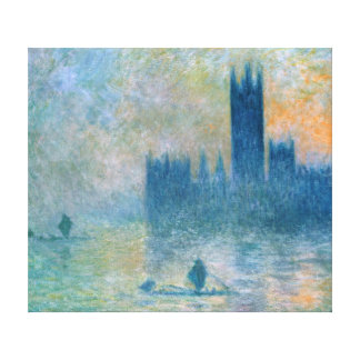 Claude Monet The Houses of Parliament Canvas Print