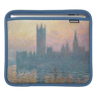 Claude Monet   The Houses of Parliament, Sunset iPad Sleeve