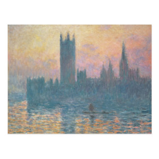 Claude Monet | The Houses of Parliament, Sunset Postcard