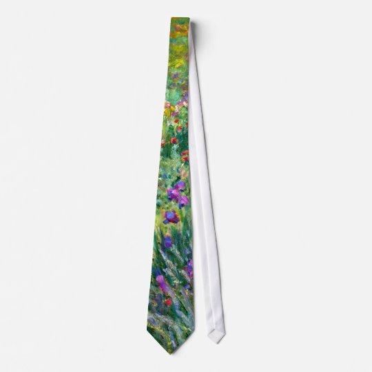 Claude Monet: The Iris Garden at Giverny Tie