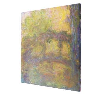 Claude Monet | The Japanese Bridge, 1918-24 Canvas Print
