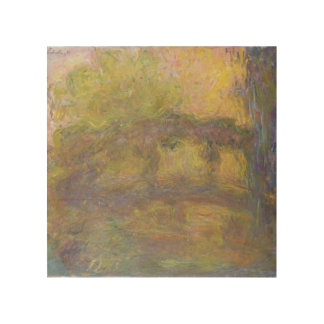 Claude Monet   The Japanese Bridge, 1918-24 Wood Print