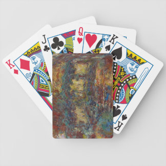 Claude Monet | The Japanese Bridge Bicycle Playing Cards