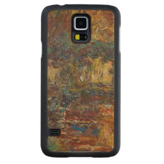 Claude Monet   The Japanese Bridge Carved Maple Galaxy S5 Case