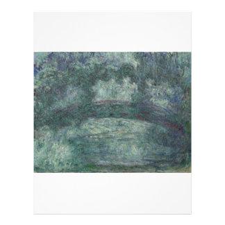 Claude Monet - The Japanese bridge Full Color Flyer