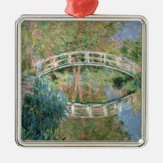 Claude Monet | The Japanese Bridge, Giverny Christmas Ornament