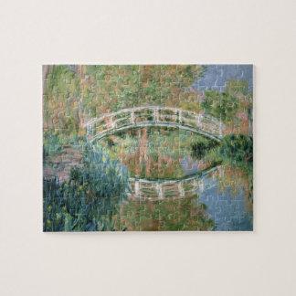 Claude Monet | The Japanese Bridge, Giverny Puzzles