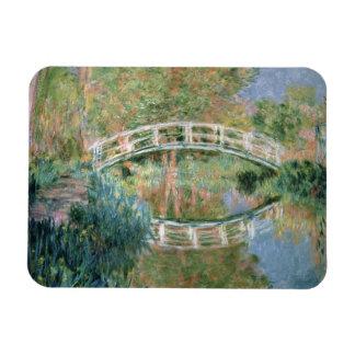 Claude Monet | The Japanese Bridge, Giverny Rectangular Photo Magnet