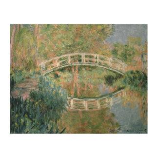 Claude Monet   The Japanese Bridge, Giverny Wood Print