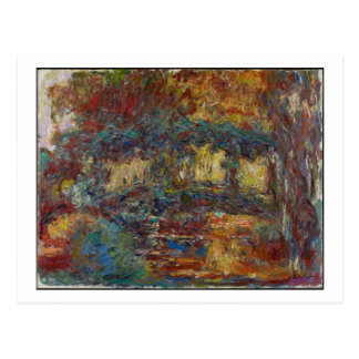 Claude Monet | The Japanese Bridge Postcard