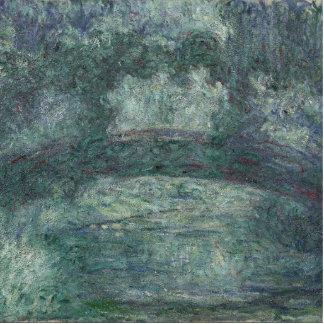 Claude Monet - The Japanese bridge Standing Photo Sculpture
