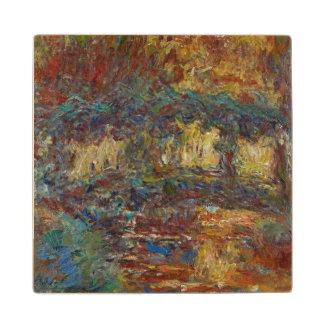 Claude Monet | The Japanese Bridge Wood Coaster
