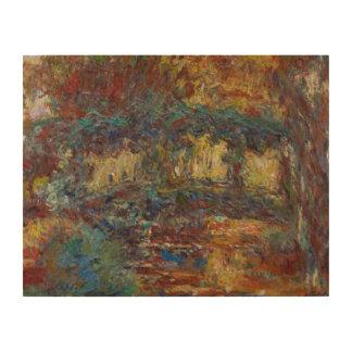 Claude Monet   The Japanese Bridge Wood Wall Decor