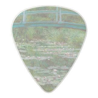 Claude Monet | The Japanese Footbridge, 1899 Acetal Guitar Pick