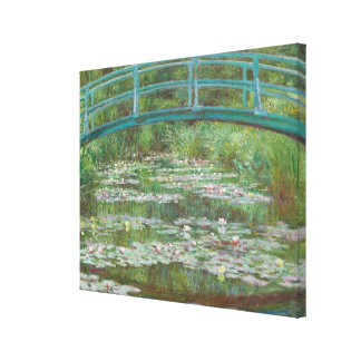 Claude Monet | The Japanese Footbridge, 1899 Canvas Print